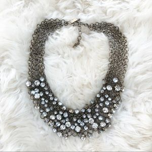 Madewell Crystal Bib Necklace